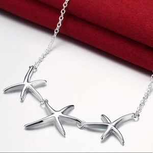 Starfish 925 Silver Necklace Chain | NEW